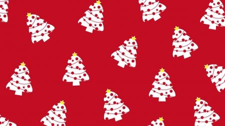 クリスマスツリーの壁紙・背景素材 1,920px×1,080px