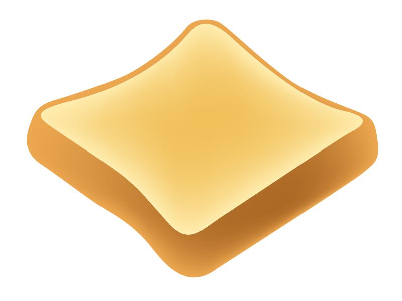 トーストのイラスト素材