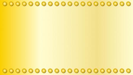 丸ドットのゴールド壁紙・背景素材 1,920px×1,080px