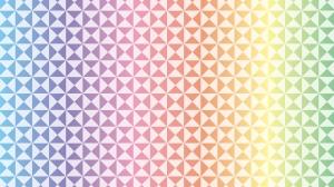 虹色の壁紙・背景素材 1,920px×1,080px