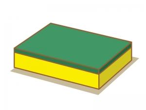 スポンジ・掃除のイラスト素材