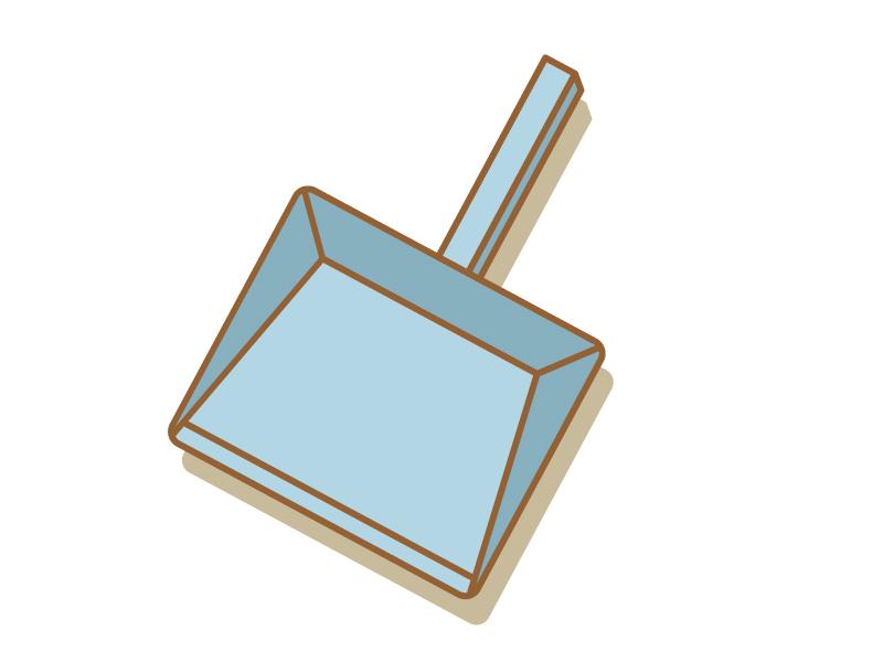 チリトリ・掃除のイラスト素材