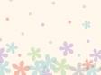 パステル調の花の壁紙・背景素材 1,920px×1,080px