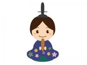 お内裏様・雛祭りのイラスト素材