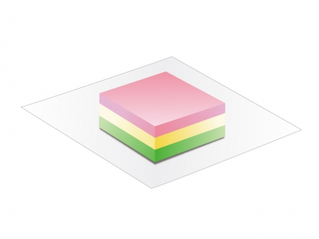 菱餅・雛祭りのイラスト素材
