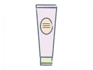 化粧品・クリームのイラスト素材