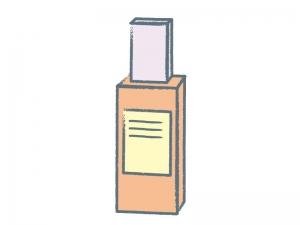 化粧品・香水のイラスト素材