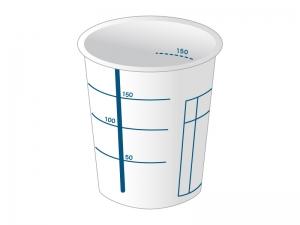 検査用コップのイラスト素材