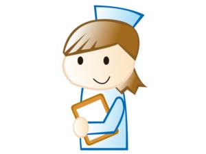 女性の看護師さんのイラスト素材