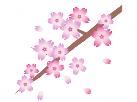 「入学 桜 イラスト」の画像検索結果