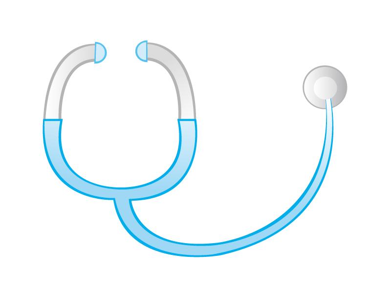 聴診器のイラスト02