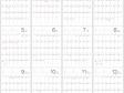 六曜付シンプル・2015年1~12月(平成27年)カレンダー・A4印刷用