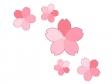 桜の花びら・春のイラスト03