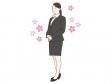 新入社員をイメージした女性のイラスト02