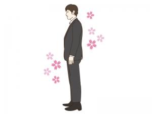 新入社員をイメージした男性のイラスト02