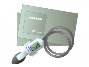血圧計のイラスト