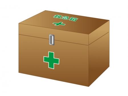 茶色い救急箱のイラスト02