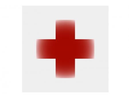 病院・赤十字マークのイラスト