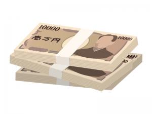 札束・お金のイラスト