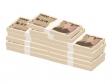 積み重ねた札束・お金のイラスト