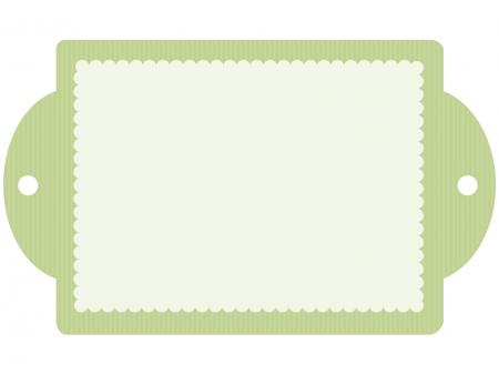 緑色・グリーンのフレーム