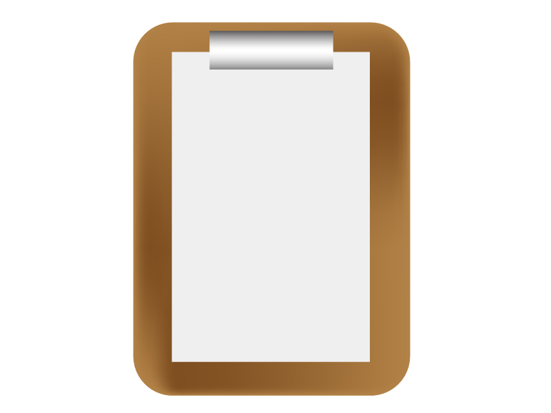 問診表(白紙)のイメージイラスト