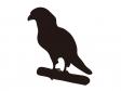 鳥のシルエットのイラスト
