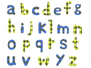 アルファベット(小文字)の文字イラスト02