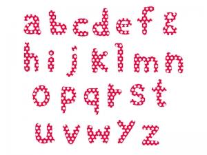 アルファベット(小文字)の文字イラスト03