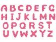アルファベット(大文字)の文字イラスト03