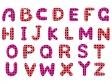 アルファベット(大文字)の文字イラスト04