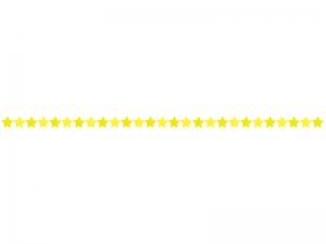 星・スターマークの線・ライン素材