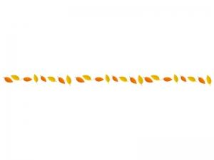 モミジ(紅葉)のライン・線イラスト