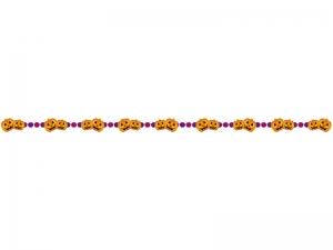 かぼちゃ・ハロウィンのライン・線イラスト02