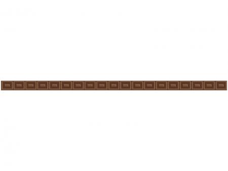 チョコレートのライン・線イラスト