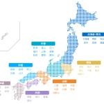 日本地図 全てのイラストが無料かわいいテンプレート