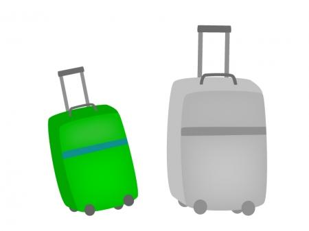 旅行・キャリーバッグのイラスト