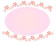 桜のフレーム・飾り枠素材07