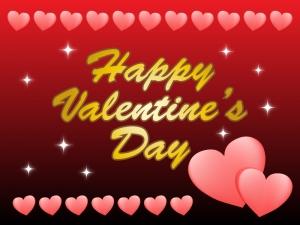 バレンタイン,ハート,文字,カード