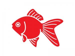 縁日・お祭り・夏の定番・金魚のイラスト