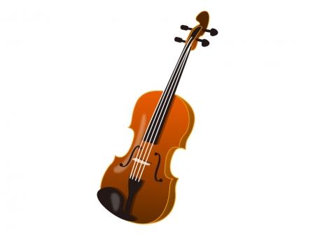 バイオリン・楽器のイラスト