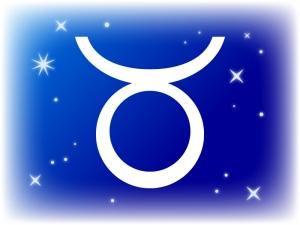 牡牛座 (おうしざ)の星座マークのイラスト