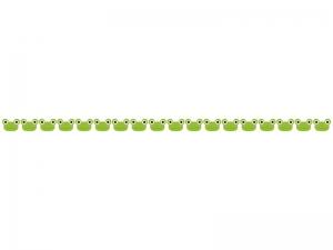 かわいらしいカエルのライン・線イラスト