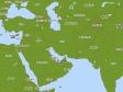 中東の地図イラスト素材