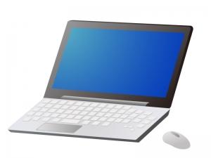 ノートパソコン(PC)のイラスト