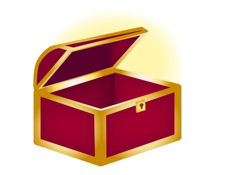 宝箱のイラスト