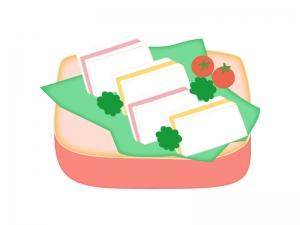 ピクニック・サンドウィッチのイラスト