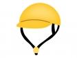 黄色いヘルメットのイラスト