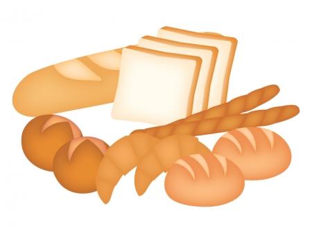 いろいろなパンのイラスト ...