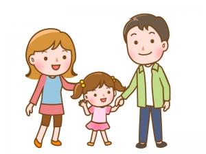 親子・家族のイラスト